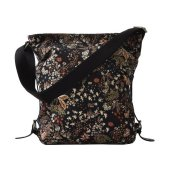 Ceannis - Väska Shoulder Bag Black Mixed Flower