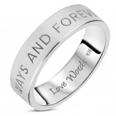 Love Words Jewellery - Ring Always And Forever