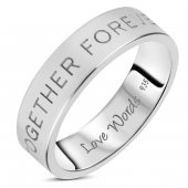 Love Words Jewellery - Ring Together Forever