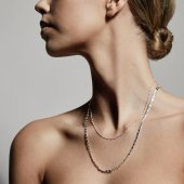Pilgrim - Halsband Intuition Chain Silver