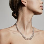 Pilgrim - Halsband Sensitivity Chain Silver