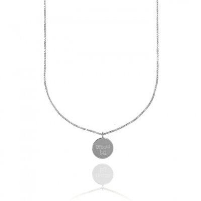 CU Jewellery - Halsband Dream Big Coin Silver