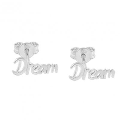 CU Jewellery - Örhängen Dream Big Small Ear Silver