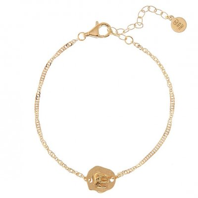 CU Jewellery - Armband Two Elephant Guld