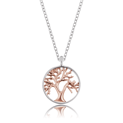 Engelsrufer - Halsband Tree of Life Silver