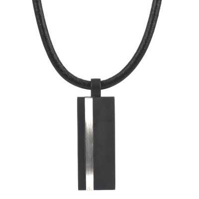 Arock by a&a MAN - Halsband Moltas Silver