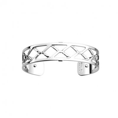 Les Georgettes - Armband 14 Cannage Silver