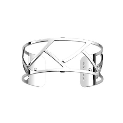 Les Georgettes - Armband 25 Tresse Silver