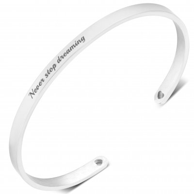 Love Words Jewellery - Armband Never Stop Dreaming