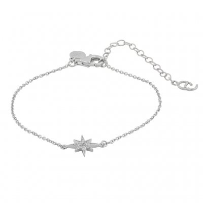 CU Jewellery - Armband One Star Silver