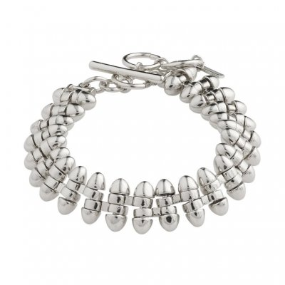 Pilgrim - Armband Affection Silver
