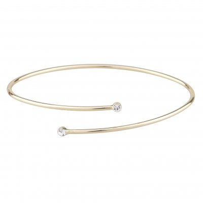 Snö of Sweden Armband Josephine Oval Guld