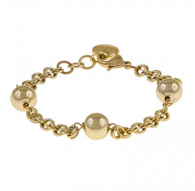 Snö of Sweden Armband Rain Chain Guld