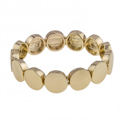 Snö of Sweden Armband Retro Plain Guld