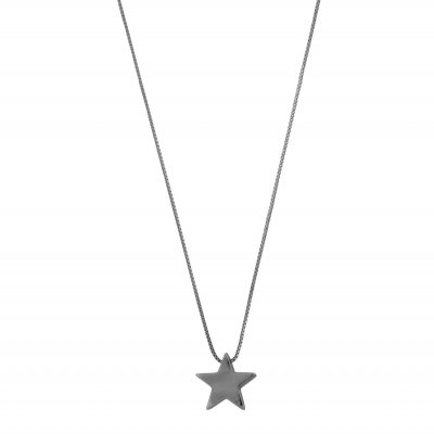 Snö of Sweden Halsband Small Star Svart