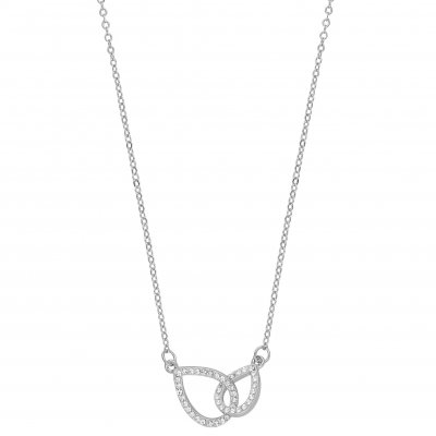 Snö of Sweden Halsband Ciel Duo Silver