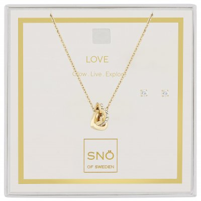Snö of Sweden Paket Valentine Love Guld