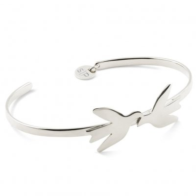 Syster P - Armband Birdy Silver