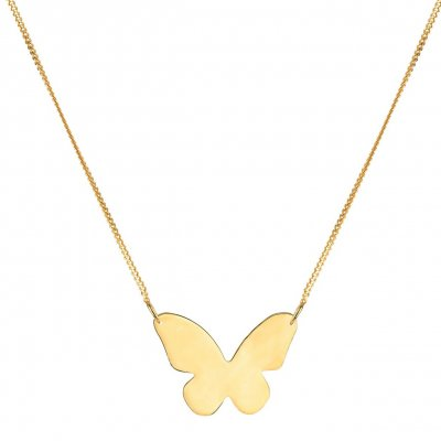 Syster P - Halsband Butterfly Love Guld