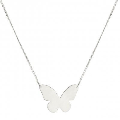 Syster P - Halsband Butterfly Love Silver