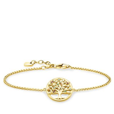 Thomas Sabo - Armband Tree of Love Mix Guld
