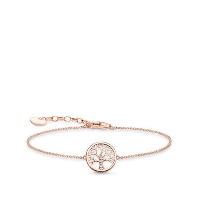Thomas Sabo - Armband Tree of Love CZ Rosé