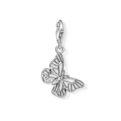 Thomas Sabo - Berlock Charm Club Butterfly Plain