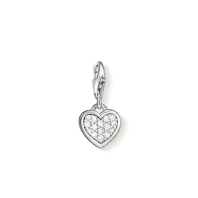 Thomas Sabo - Berlock Charm Club Heart Crystal