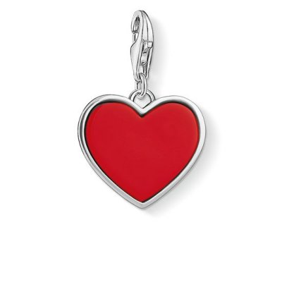 Thomas Sabo - Berlock Charm Club Love Is Because Of You