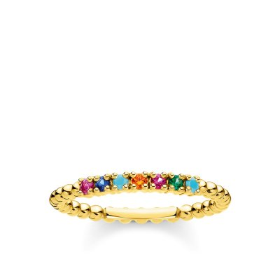 Thomas Sabo - Ring Shine Guld Mix