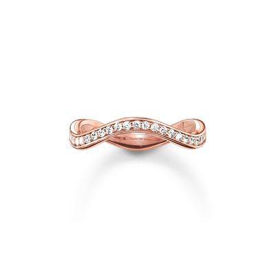 Thomas Sabo - Ring The Eternity of Love Wave Rose