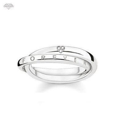 Thomas Sabo - Ring Together Forever Heart